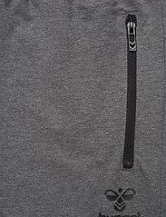 Hummel - HMLRAY PANTS - pants - dark grey melange - 4