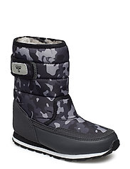 REFLEX WINTER BOOT CAMO JR - ASPHALT