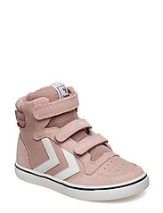 STADIL LEATHER HIGH JR - PALE MAUVE
