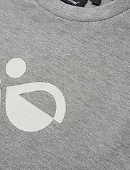 Hummel - HMLDOS SWEATSHIRT - sweatshirts - grey melange - 2