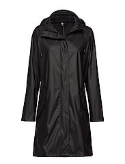 hmlJOY RAIN COAT - BLACK