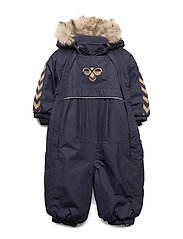 hmlMOON SNOWSUIT - GRAPHITE