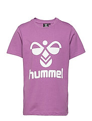 hmlTRES T-SHIRT S/S - CHINESE VIOLET
