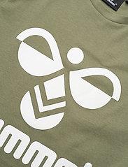 Hummel - hmlTRES T-SHIRT S/S - short-sleeved - deep lichen green - 2
