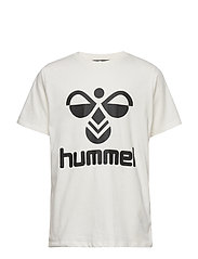 hmlTRES T-SHIRT S/S - WHISPER WHITE