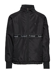 hmlTRUDE ZIP JACKET - BLACK