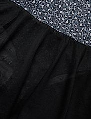 Hummel - hmlFREJA GYM SUIT - robes - black/grey - 3