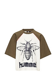 hmlANNA T-SHIRT S/S - OLIVE NIGHT