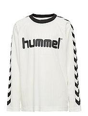 hmlCLARK T-SHIRT L/S - WHISPER WHITE