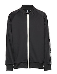 hmlJULIO ZIP JACKET - BLACK