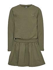 hmlMINA DRESS L/S - OLIVE NIGHT