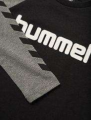 Hummel - hmlBOYS T-SHIRT L/S - long-sleeved t-shirts - black - 2