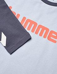 Hummel - hmlBOYS T-SHIRT L/S - long-sleeved t-shirts - blue fog - 2