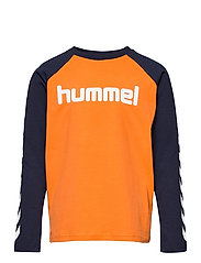 hmlBOYS T-SHIRT L/S - CARROT