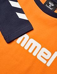 Hummel - hmlBOYS T-SHIRT L/S - long-sleeved t-shirts - carrot - 2