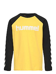 hmlBOYS T-SHIRT L/S - MAIZE