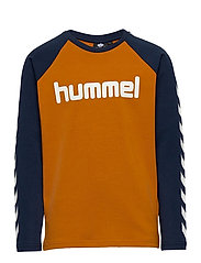 hmlBOYS T-SHIRT L/S - PUMPKIN SPICE