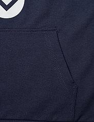 Hummel - hmlCUATRO HOODIE - hoodies - black iris - 3