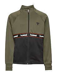 hmlKANE ZIP JACKET - OLIVE NIGHT