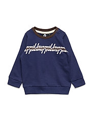 hmlJEPPE SWEATSHIRT - PATRIOT BLUE