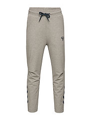 hmlT-BONE PANTS - GREY MELANGE