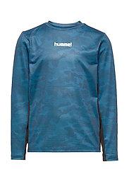 hmlRUSSEL T-SHIRT L/S - STELLAR