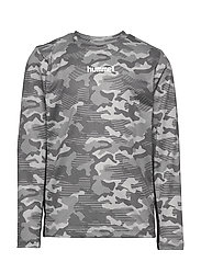 hmlRUSSEL T-SHIRT L/S - WET WEATHER
