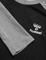 Hummel - hmlMARK T-SHIRT L/S - bluzki z długim rękawem - black - 4