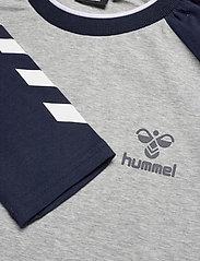 Hummel - hmlMARK T-SHIRT L/S - bluzki z długim rękawem - grey melange - 4