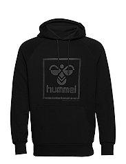 hmlISAM HOODIE - BLACK