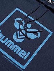 Hummel - hmlISAM HOODIE - hoodies - black iris - 2