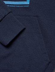 Hummel - hmlISAM HOODIE - hoodies - black iris - 3