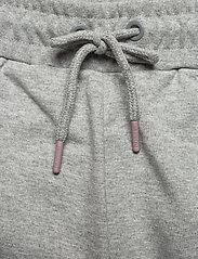 Hummel - hmlISAM REGULAR PANTS - trainingsbroek - grey melange - 4