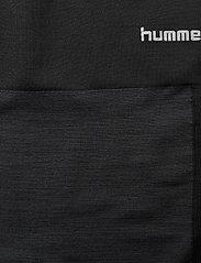 Hummel - hmlCLEA SEAMLESS CYCLING SHORTS - spodenki treningowe - black melange - 4