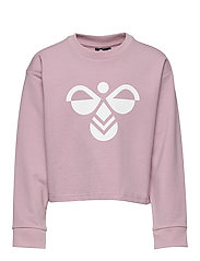 hmlCINCO SWEATSHIRT - MAUVE SHADOW