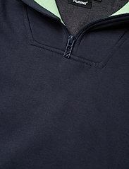 Hummel - hmlJACOB HOODIE - hoodies - blue nights - 4