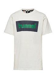 hmlKARLO T-SHIRT S/S - WHISPER WHITE