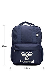 Hummel - hmlJAZZ BACK PACK - plecaki - black iris - 5