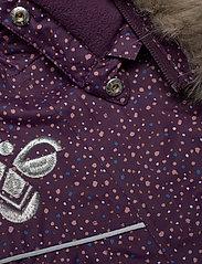 Hummel - hmlJESSIE JACKET - insulated jackets - blackberry wine - 4