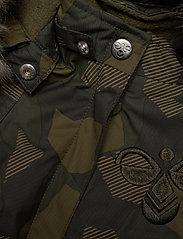 Hummel - hmlJESSIE JACKET - insulated jackets - olive night/ ecru olive - 4