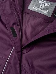 Hummel - hmlJEANNE COAT - ski jackets - blackberry wine - 6