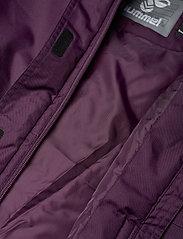 Hummel - hmlJEANNE COAT - ski jackets - blackberry wine - 8