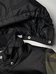 Hummel - hmlWEST JACKET - insulated jackets - olive night/ ecru olive - 7