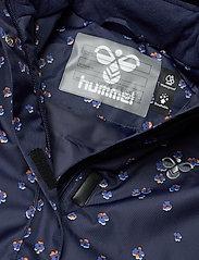 Hummel - hmlMARTHA COAT - bomber jackets - black iris/marlin - 4