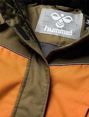 Hummel - hmlCONRAD JACKET - insulated jackets - olive night - 4