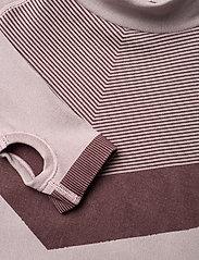 Hummel - hmlKITH SEAMLESS T-SHIRT L/S - long-sleeved t-shirts - deauville mauve - 4