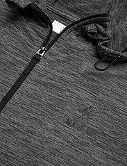Hummel - hmlSELBY ZIP HOODIE - hupparit - dark grey melange - 2