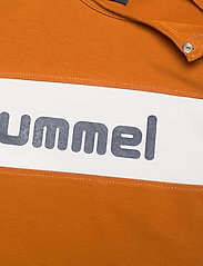 Hummel - hmlCLEMENT T-SHIRT L/S - long-sleeved t-shirts - pumpkin spice - 2