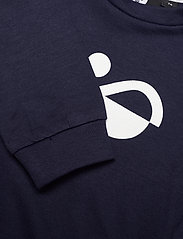 Hummel - hmlLEMON SWEATSHIRT - sweatshirts - black iris - 2