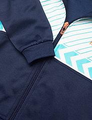 Hummel - hmlDENNIS ZIP JACKET - sweatshirts - black iris - 4